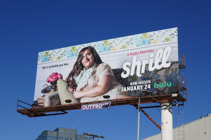 Shrill season 2 billboard