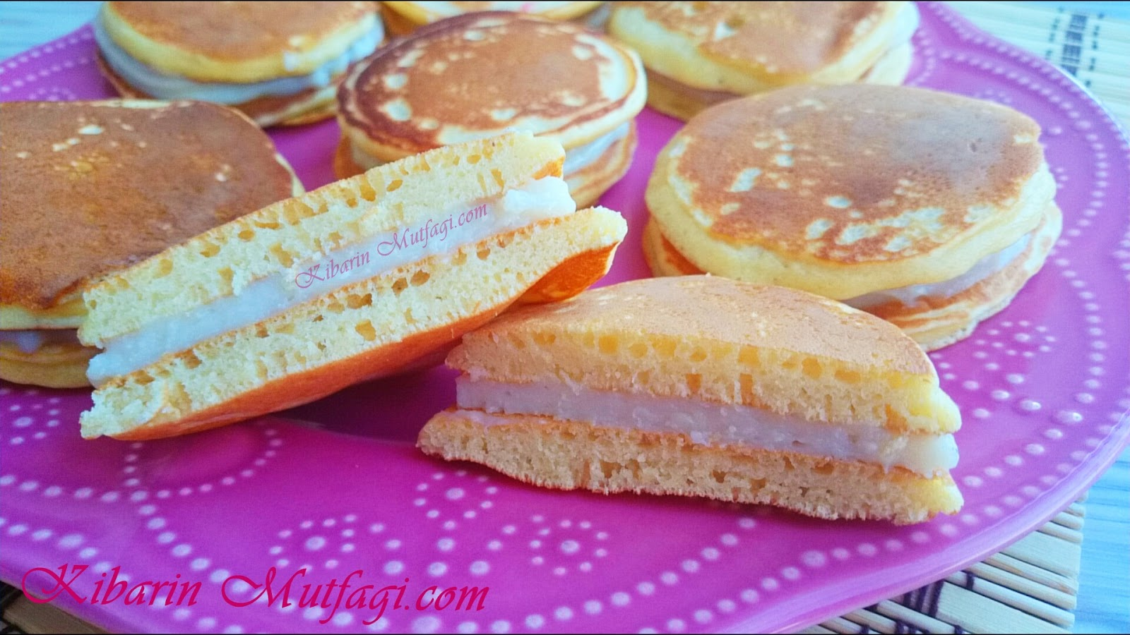 Süt Burger Tarifi – Ev Yapımı Süt Burger Nasıl Yapılır – Çocuklar için farklı pasta tarifleri