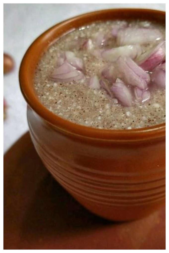 Oothu maavu kool Recipe Tamil - ஊதுமாக் கூழ்
