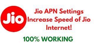 Jio APN Settings for Fast Internet