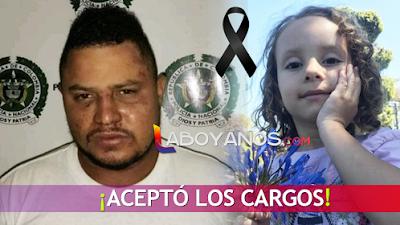 'Monstruo' de Garzón aceptó que violó, torturó y asesinó a la pequeña Salomé