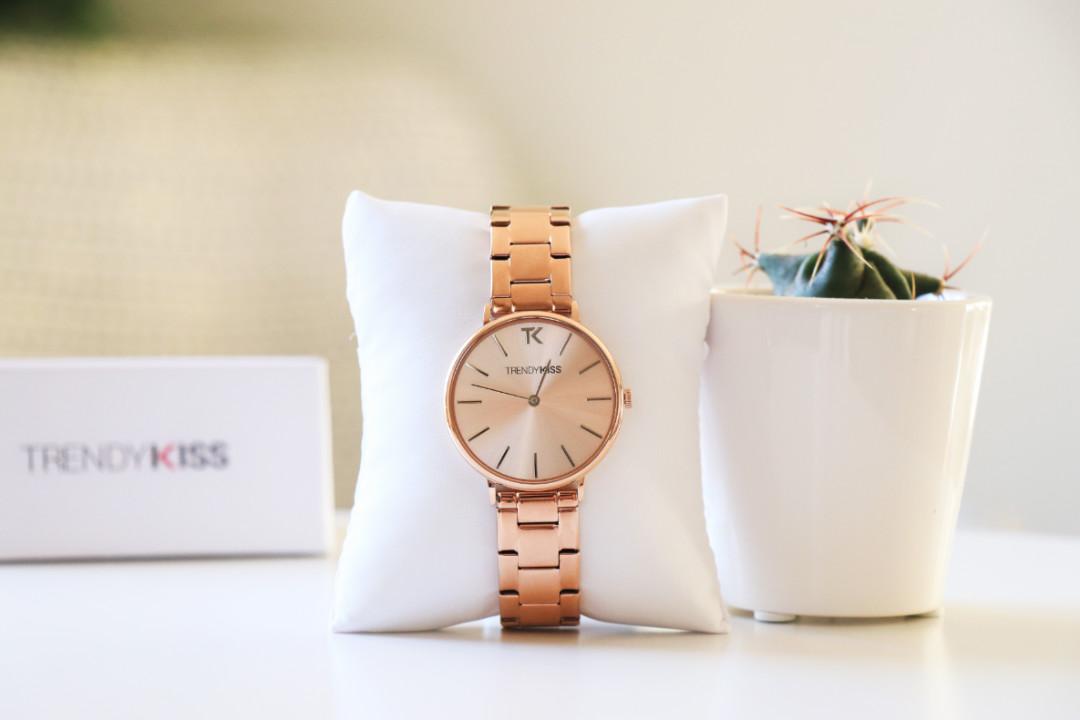 les gommettes de melo idée cadeau avis trendy kiss iris rose gold montre