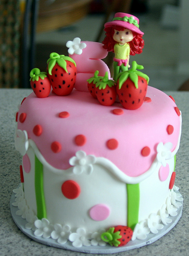Strawberry Shortcake Cake Topper Nz
