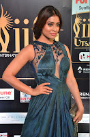 Shriya Saran in Beautiful Transparent Dark Gown IIFA Utsavam Awards 2017 063.JPG