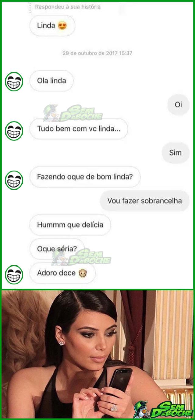 DOCE DE SOBRANCELHA?!