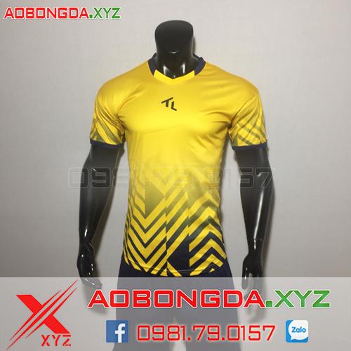 Áo Không Logo Mã XYZ-23 2020 Màu Vàng