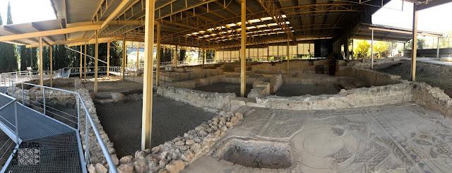 Villa romana de El Ruedo vista panorámica