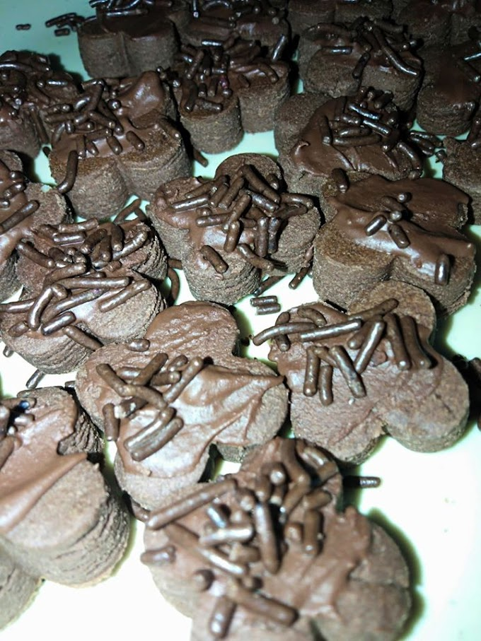 Cara buat Chocolate Delight cookies