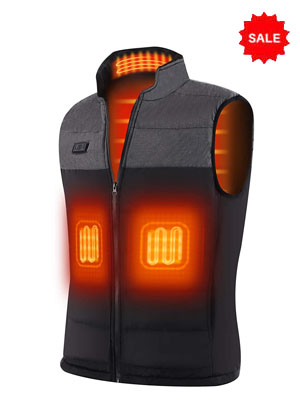 USB Heat Jacket For Winters Outdoor Activity Hiking, Skiing, and Camping