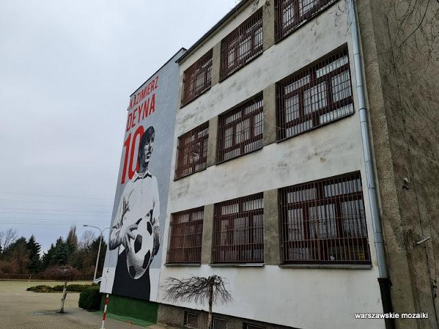 Warszawa Warsaw Ochota streetart mural warszawskie murale muralart Kazimierz Deyna Legia Ochota