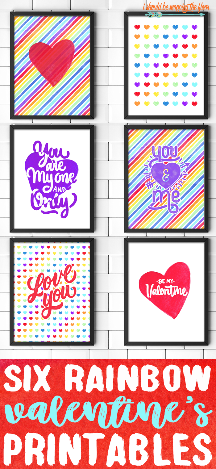 Valentine's Printables for Decorating Your Home