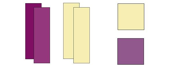Brick Yard scrappy quilt block components
