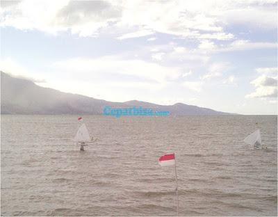 Festival Pesona Palu Nomoni,perahu layar mini,
