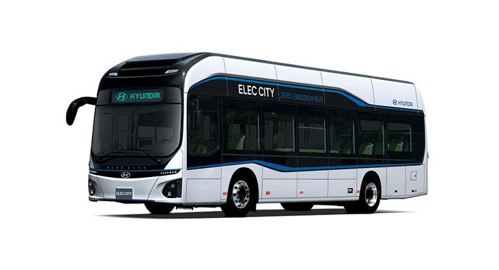 현대차, 도시형 대형 전기버스 일렉시티, '2019 대한민국 기술 대상' 수상
