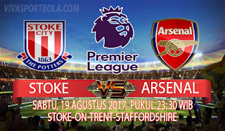 Prediksi Stoke City vs Arsenal 19 Agustus 2017