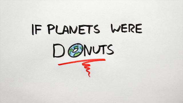 jika planet berbentuk donat