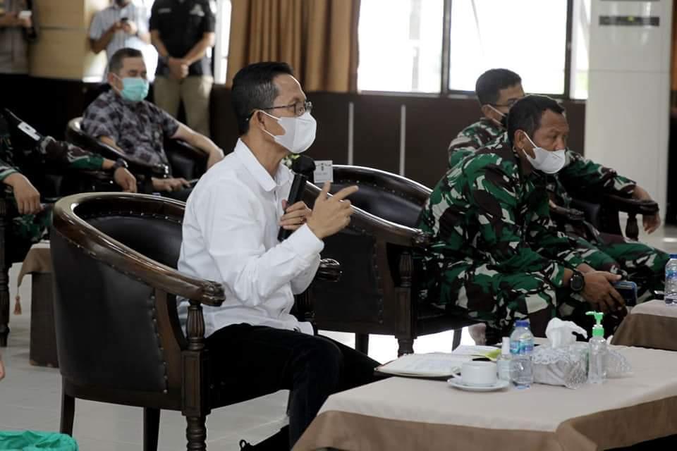 Rapat Bersama Pemprov Kepri, Amsakar Sampaikan Empar Poin Penting Perihal Penanganan Covid-19 di Batam