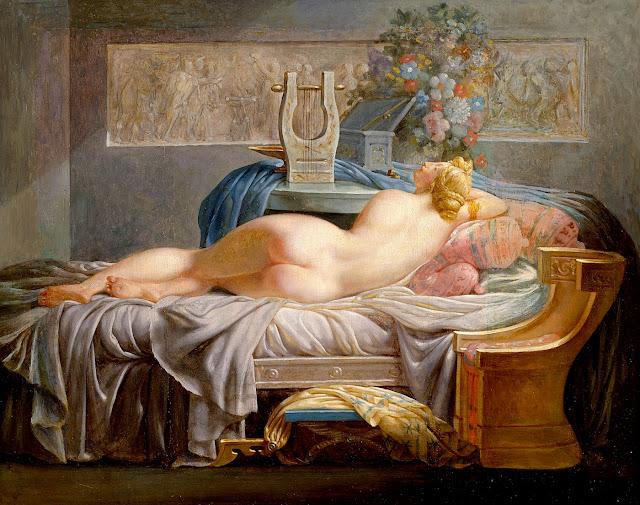Jean Baptiste Regnault - Saffo - erotismo - sex art