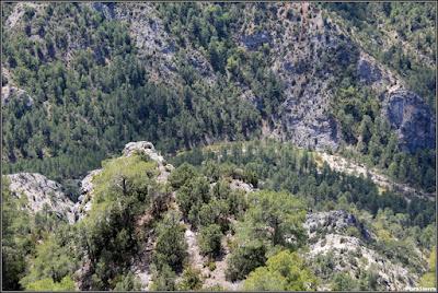 Vista del Río Escabas desde la cumbre de El Cucurucho (Fuertescusa)