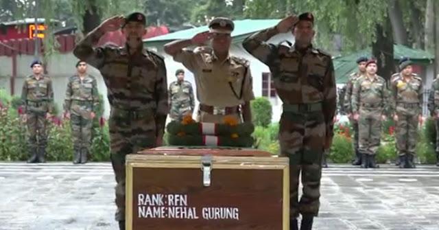 Rifleman Nihal Gurung
