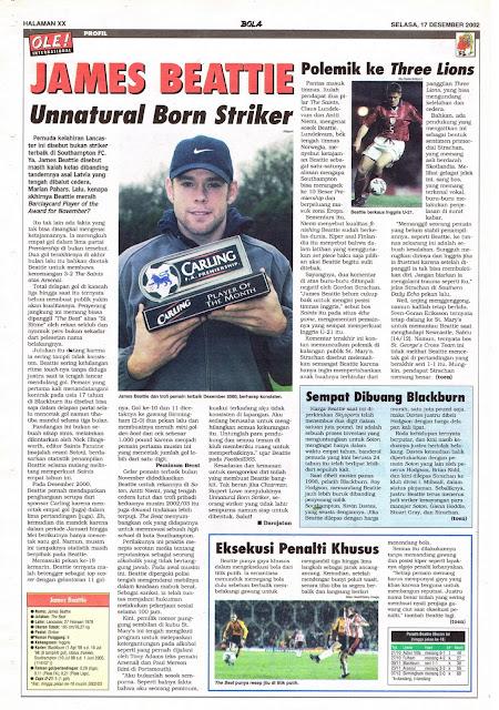 JAMES BEATTLE UNNATURAL BORN STRIKER