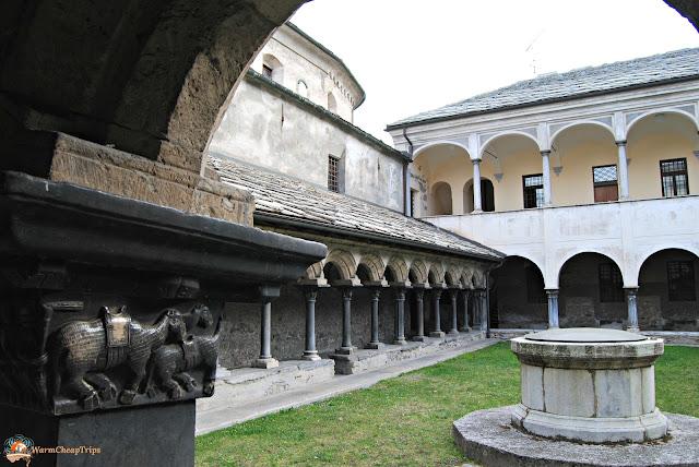 Collegiata di Sant'Orso, Aosta, cosa vedere, aosta in un giorno, itinerario ad aosta