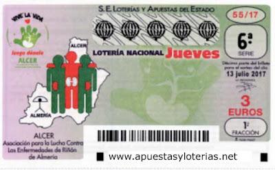 loteria nacional del jueves 13 de julio de 2017