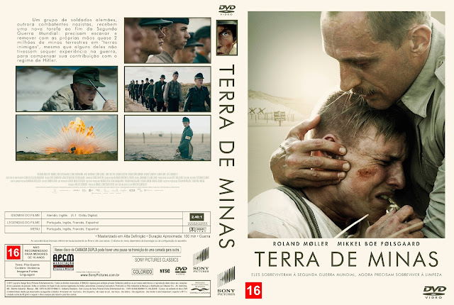 Capa DVD Terra de Minas [Exclusiva]