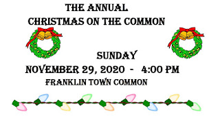 Santa on the Common - now a drive by event - Nov 29