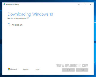 Downloading Windows 10 Media Creation Tool
