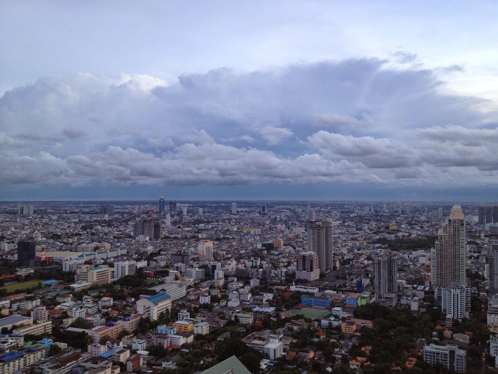 Bangkok - City views from the Vertigo and Moon Bar