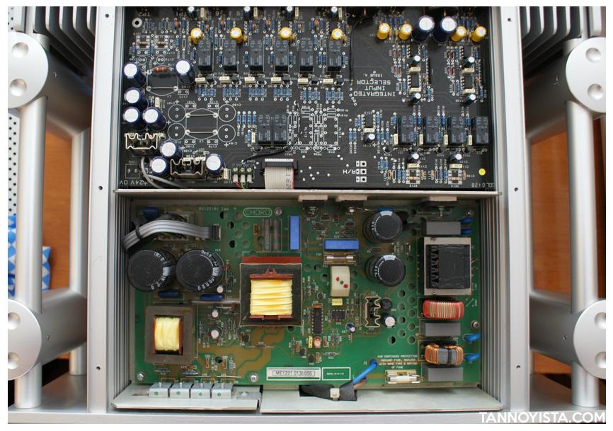 Chord amplifiers - SPM 2600 Inside