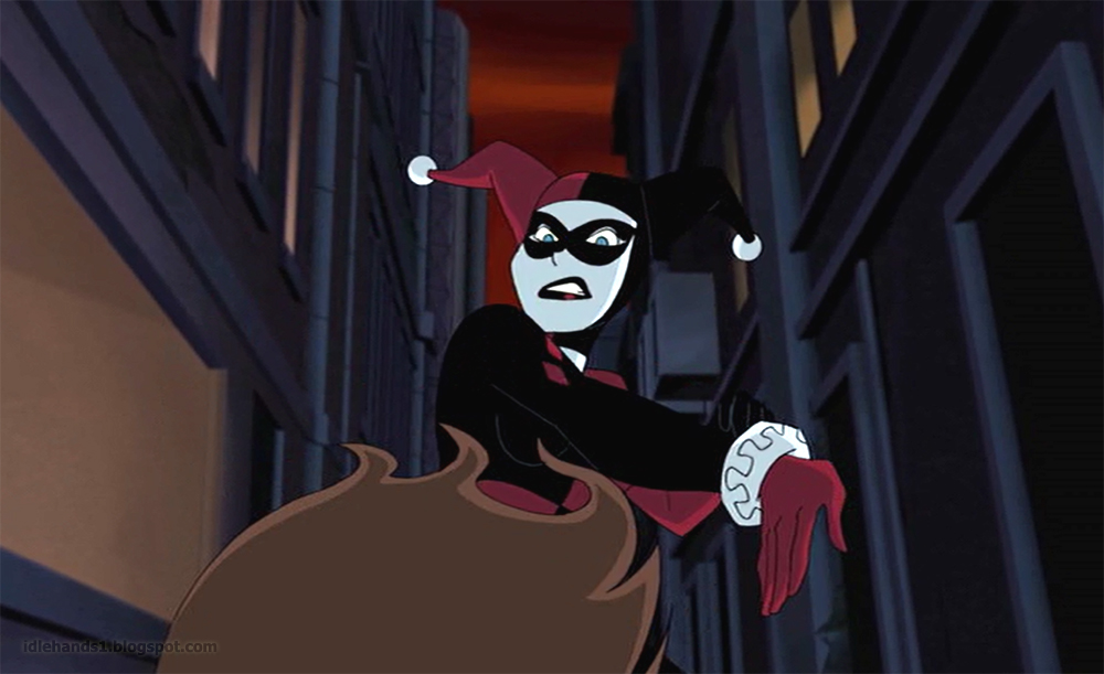 idle hands  batman and harley quinn animated movie preview