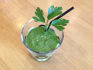Zielony koktail owocowo-warzywny II
