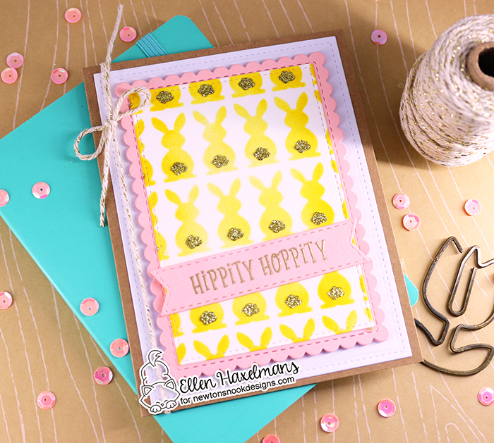 #newtonsnookdesigns #nnd #card #cardmaking #stamps #distress #ink #handmade #stamp #set #dies #blog #hop #2021 #Easter #release #paperart #hobby #drawing #Release #February #Zig  #BunnyTails  #BasketWeave  #Gold  #GlitzGlitterGel  #ThermOWeb #SpringRoundabout  #ZigCleanColorBrushMarkers #CircleFrames
