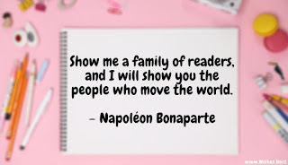 family reading together quote