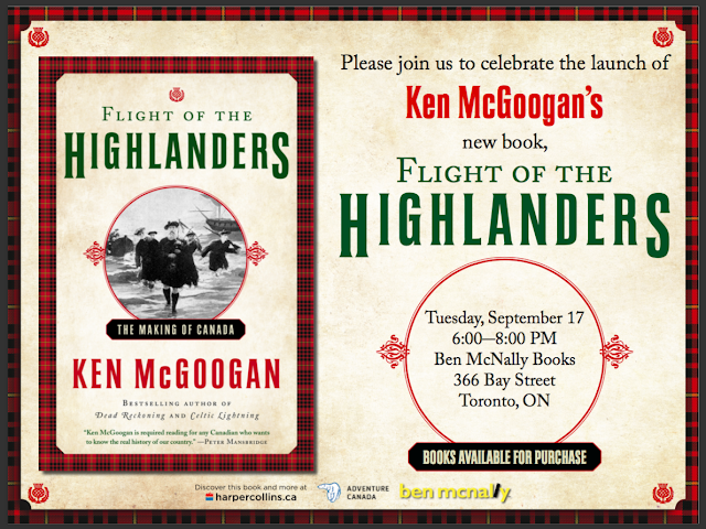 Highlanders preparing to march on Toronto