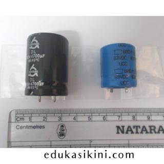 Kapasitor elektrolit tegangan menengah