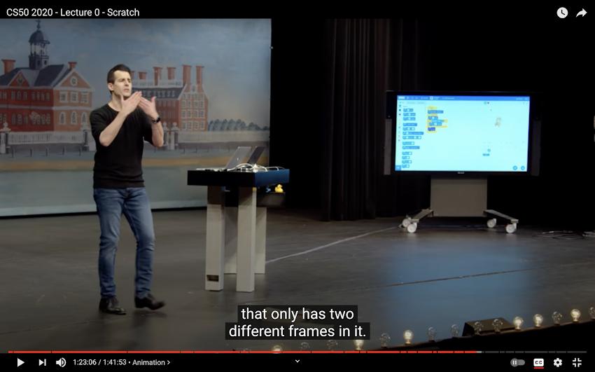 CS50 Pelajaran Scratch Programming Untuk Mahasiswa di Harvard