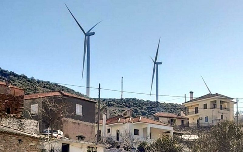 Ανακοίνωση του ΚΚΕ ΑΜ-Θ για την ολοένα και αυξανόμενη αδειοδότηση ανεμογεννητριών στη Θράκη
