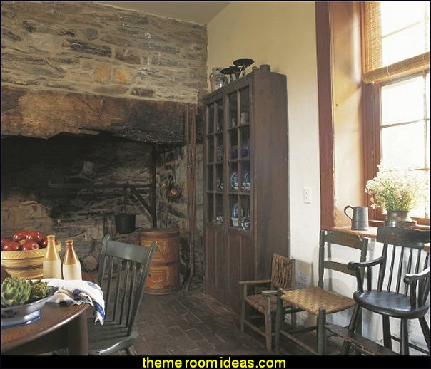 Folk Decor for Interior Design primitive decorating primitive early america Primitives
