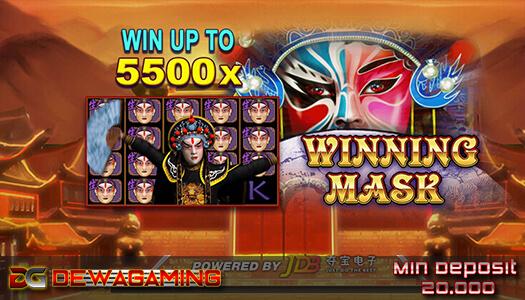 Winning Mask Fafaslot88 20 Ribuan