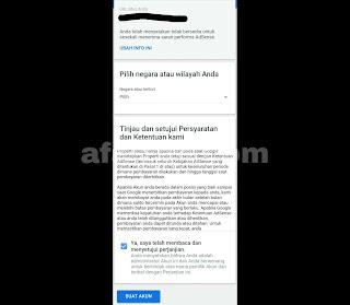 Cara Membuat Akun atau Daftar Google AdSense di Android
