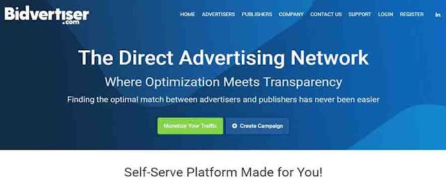 Top 10 Make Money Online without Google Adsense New best Tips- bidvertiser
