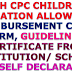 7TH CPC CHILDREN EDUCATION ALLOWANCE- REIMBURSEMENT CLAIM FORM, GUIDELINES, CERTIFICATE FROM INSTITUTION/ SCHOOL AND SELF DECLARATION
