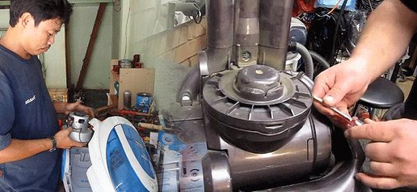 cách khắc phục máy hút bụi bị hỏng