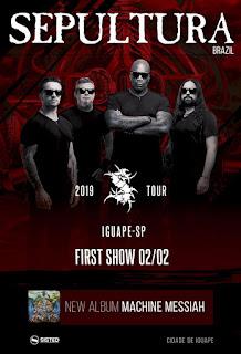 Show da Banda Sepultura em Iguape-SP