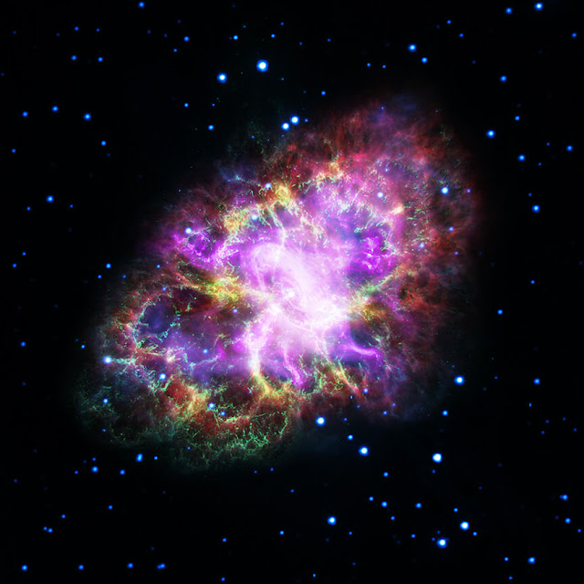 Nova imagem da Nebulosa do Caranguejo