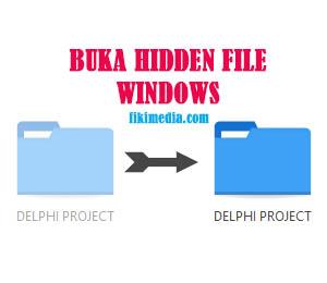 buka hidden file