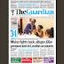 NAIJA NEWSPAPERS: TODAY'S THE GUARDIAN NEWSPAPER HEADLINES [1 NOVEMBER, 2017].